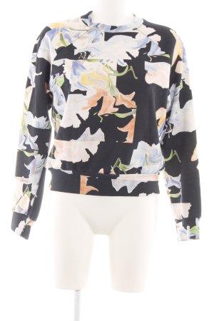 MTWTFSSWEEKDAY Sweatshirt Blumenmuster Casual-Look