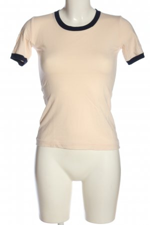 MTWTFSSWEEKDAY T-Shirt creme-schwarz Casual-Look