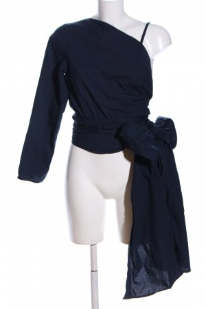 MTWTFSSWEEKDAY Wickel-Bluse blau Elegant