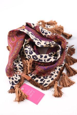Mucho Gusto Mantilla estampado de leopardo look casual