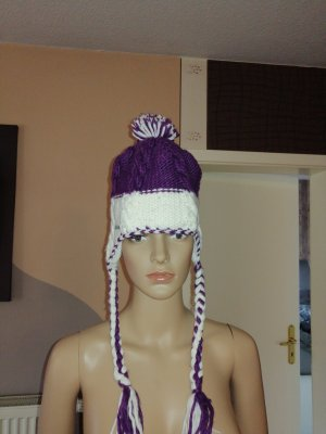Chiemsee Knitted Hat white-lilac