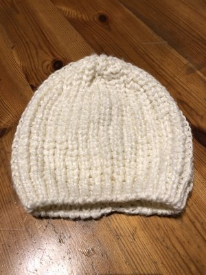 H&M Knitted Hat natural white