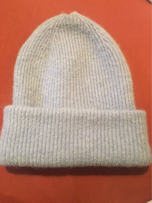 Reserved Sombrero de tela azul celeste-gris pizarra