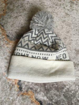 Adidas NEO Cappello in tessuto bianco-argento