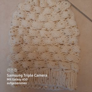 .12 puntododici Knitted Hat natural white-oatmeal