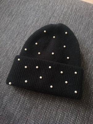 Pimkie Cappello in tessuto bianco-nero