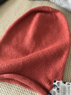 Pieces Knitted Hat brick red