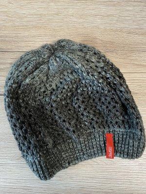Esprit Chapeau en tricot gris