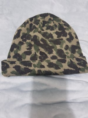 H&M Beanie black-green grey