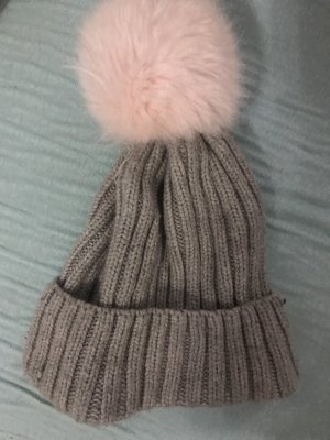 H&M Fur Hat multicolored