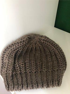 Pimkie Gorra redonda con visera marrón claro-marrón grisáceo
