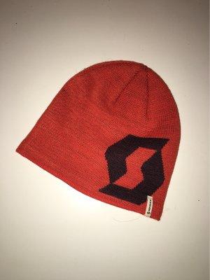 Scott Fabric Hat dark orange-blue