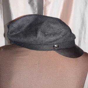 Athmosphere Baseballówka czarny Tkanina z mieszanych włókien