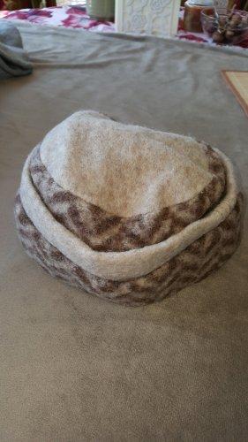 Flat Cap brown-beige