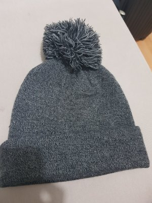 H&M Beanie light grey-grey