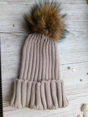 Sombrero de piel camel Pelaje