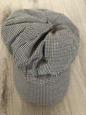 Cappello da panettiere bianco-nero