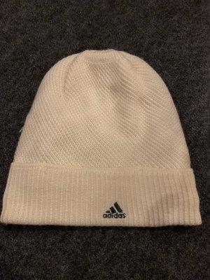 Adidas Cappello a maglia bianco sporco