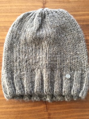 Esprit Knitted Hat grey brown