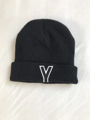 Fabric Hat black-white
