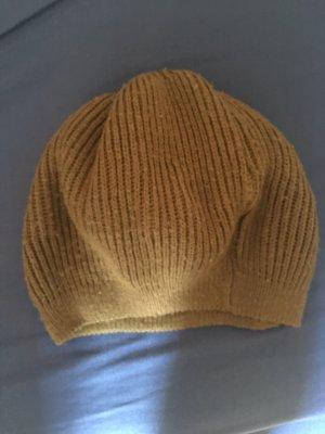 Cappello in tessuto grigio-verde