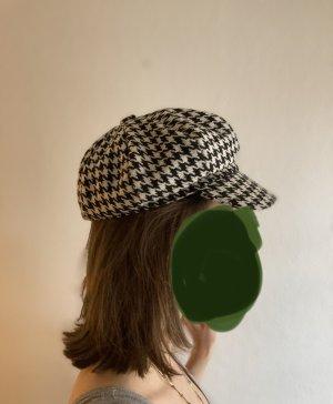 Cappello da panettiere nero-bianco