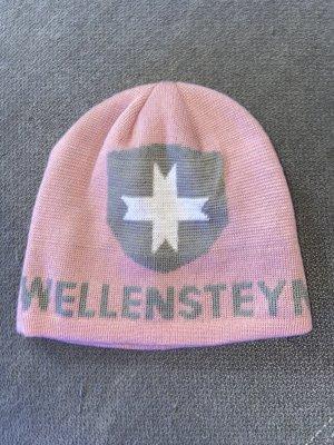 Wellensteyn Sombrero de tela color rosa dorado-gris
