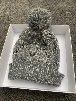Crane Cappello a punta bianco-grigio