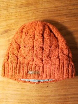 Mütze altrosa mit Fleece Innenfutter