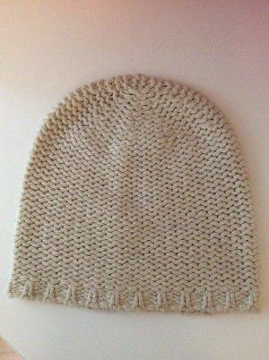 American Vintage Cappello a maglia beige chiaro