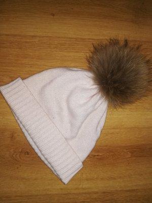 S.Marlon Bobble Hat beige-dusky pink