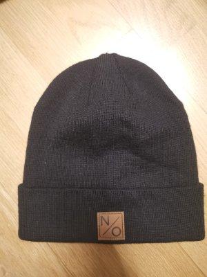 Mütze aus Wolle n/o schwarz