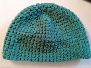 Crochet Cap cadet blue