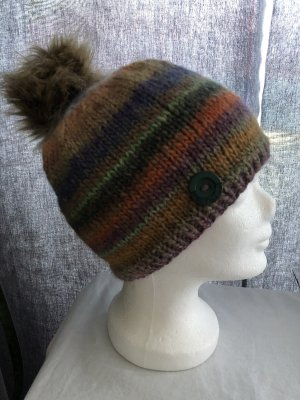 Unikat Knitted Hat multicolored