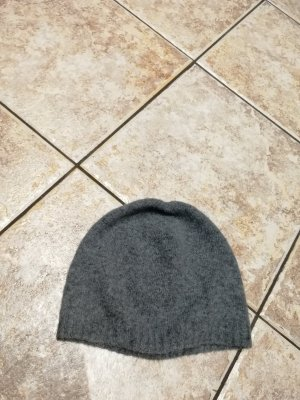 United Colors of Benetton Knitted Hat dark grey-anthracite
