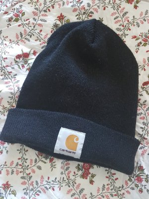 Carhartt Chapeau en tissu noir