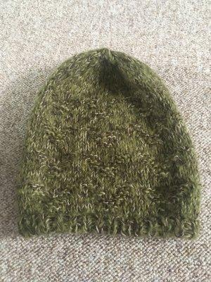 Mütze/Beanie Grün/Braun