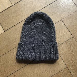 H&M Knitted Hat silver-colored