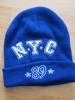 Atmosphere Beanie blue-white