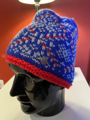 Bogner Fire + Ice Knitted Hat blue