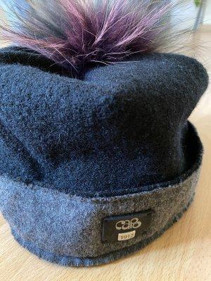 Capo Fabric Hat black-dark grey