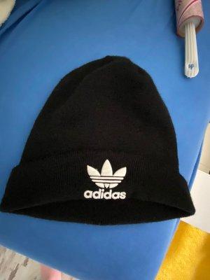 Adidas Berretto nero-bianco