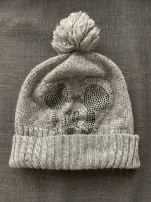 Codello Knitted Hat silver-colored synthetic material