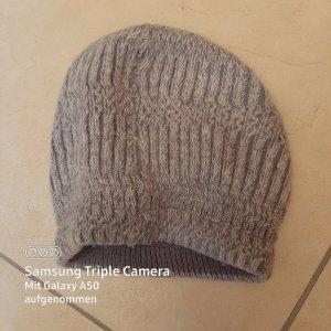 .12 puntododici Futrzana czapka jasnoszary-szary