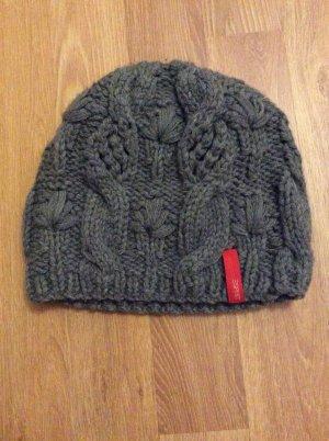 de.corp by Esprit Chapeau en tricot gris