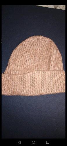 H&M Sombrero de punto rosa empolvado-rosa