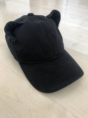 Karl Lagerfeld Fabric Hat black