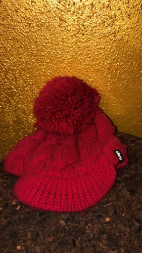 Barts Bobble Hat raspberry-red