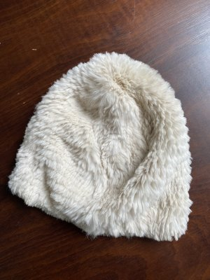 Fur Hat natural white