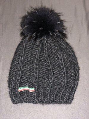Frieda & Freddies New York Cappello in pelliccia grigio scuro